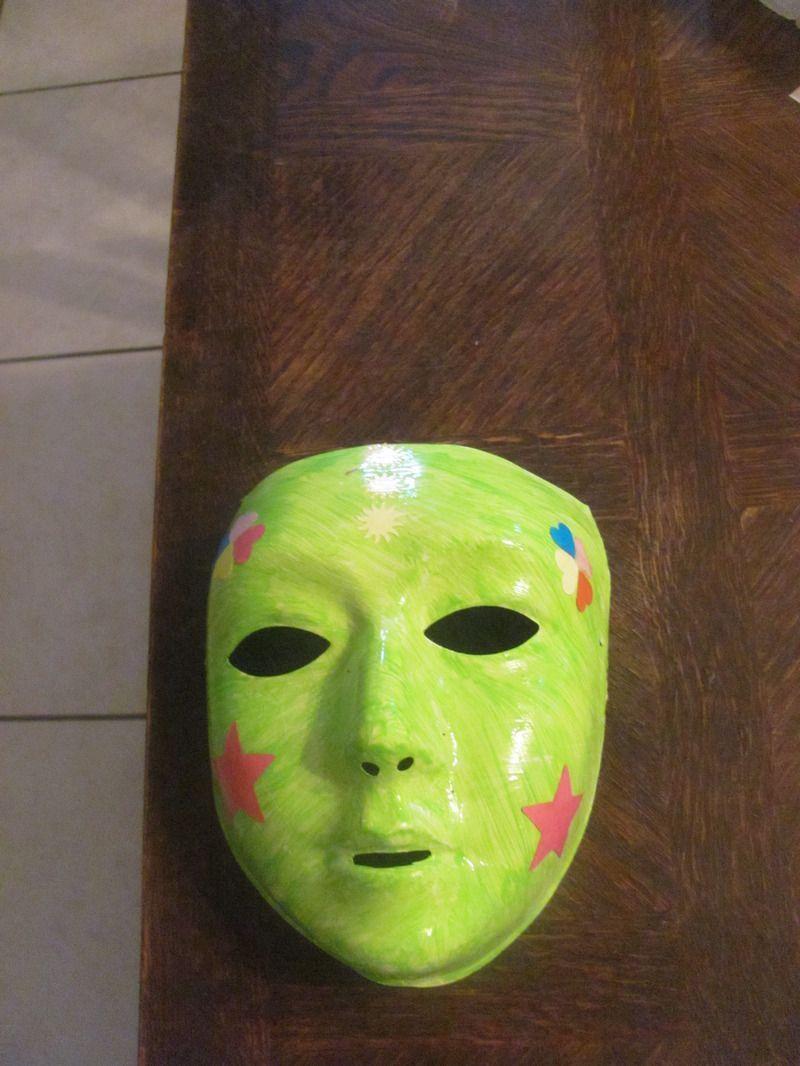 Peinture sur masque centerblog - Masque a peinture ...